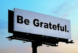 Be Grateful billboard image